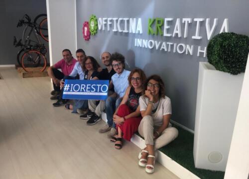 #IoRestoCon Officina Kreativa