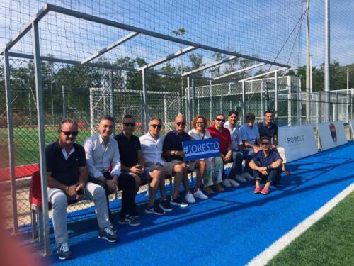 #IoResto con Centro sportivo Academy