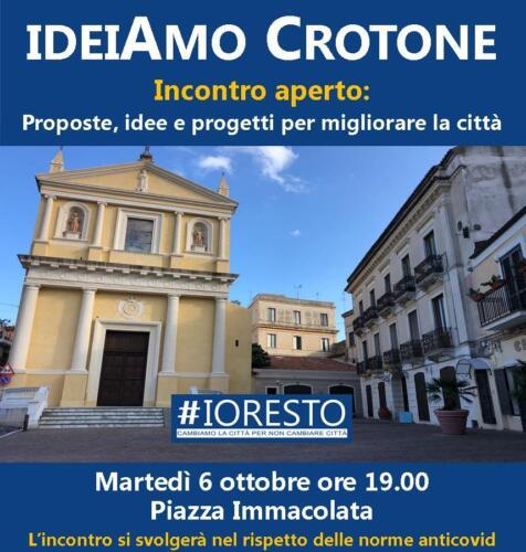Evento IdeiAmo Crotone Ottobre 2020